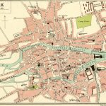 Cork In Old Maps In Cork City Map Printable