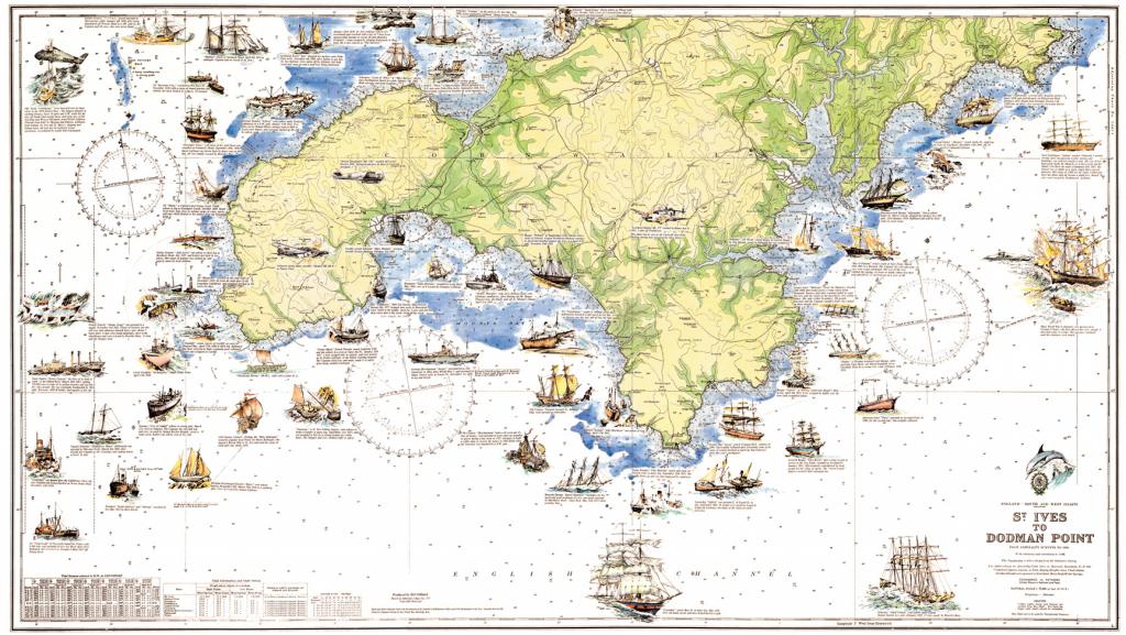 Cornwall Map | Cornwall Guide regarding Printable Map Of Cornwall