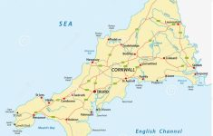 Printable Map Of Cornwall