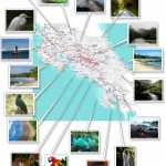 Costa Rica  Free Printable Map Download With Free Printable Map Of Costa Rica