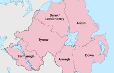 Printable Map Of Northern Ireland