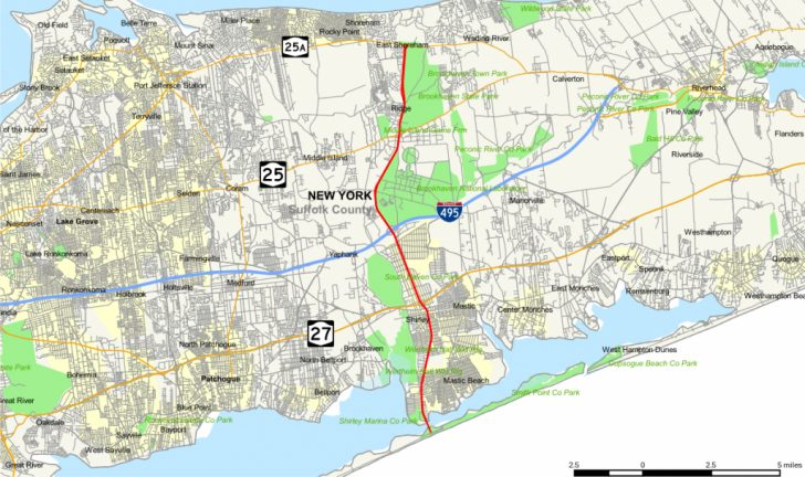 Printable Map Of Suffolk County Ny