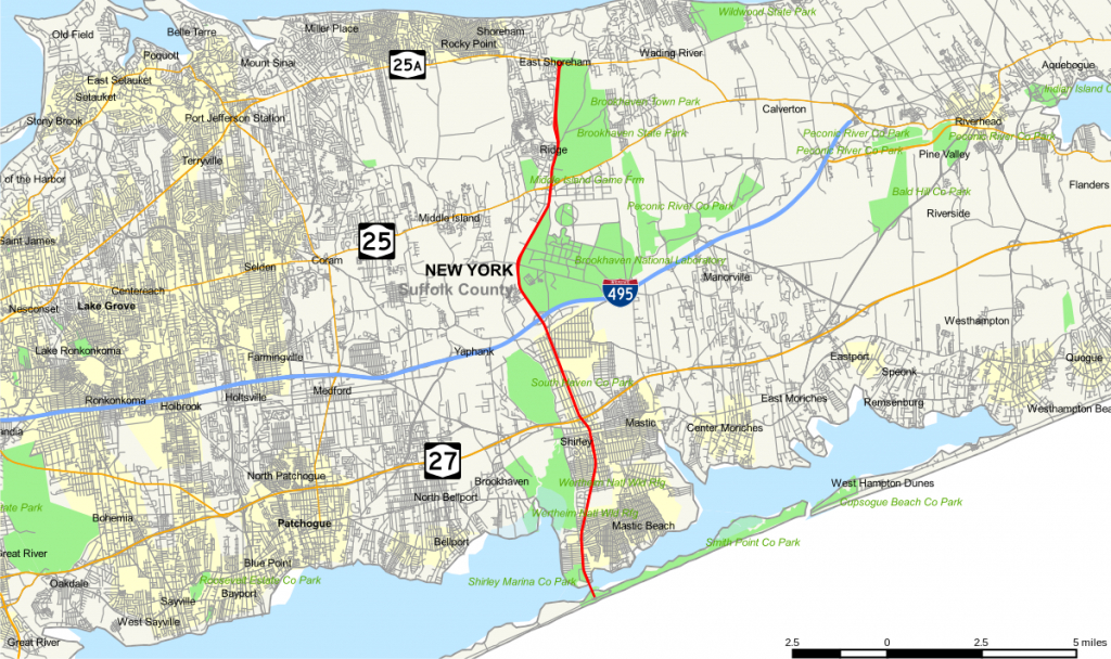 County Route 46 (Suffolk County, New York) - Wikipedia with regard to Printable Map Of Suffolk County Ny
