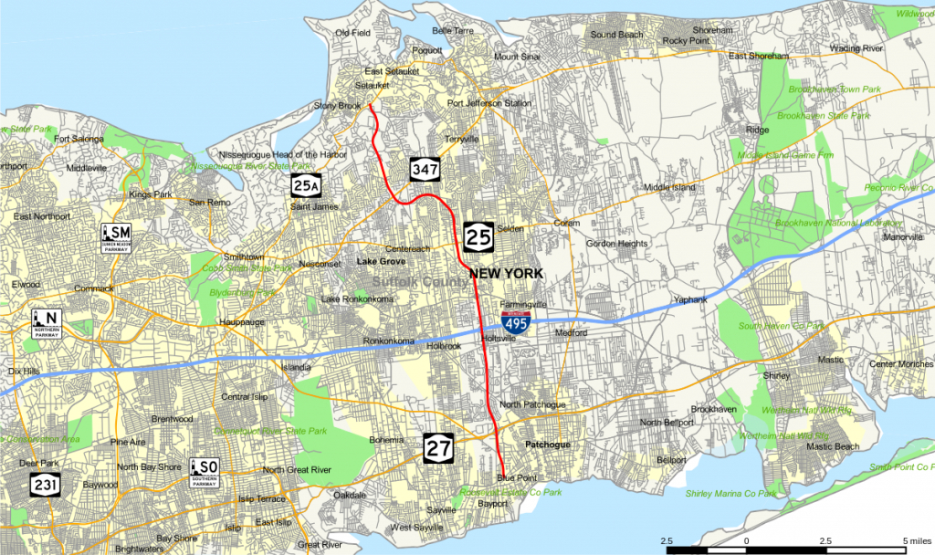 County Route 97 (Suffolk County, New York) - Wikipedia for Printable Map Of Suffolk County Ny