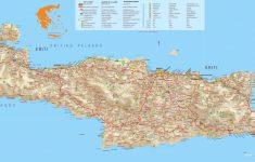 Printable Map Of Crete