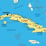Cuban Missile Crisis Us Map Cold War Cdoovision Com Picturesque In Printable Map Of Cuba