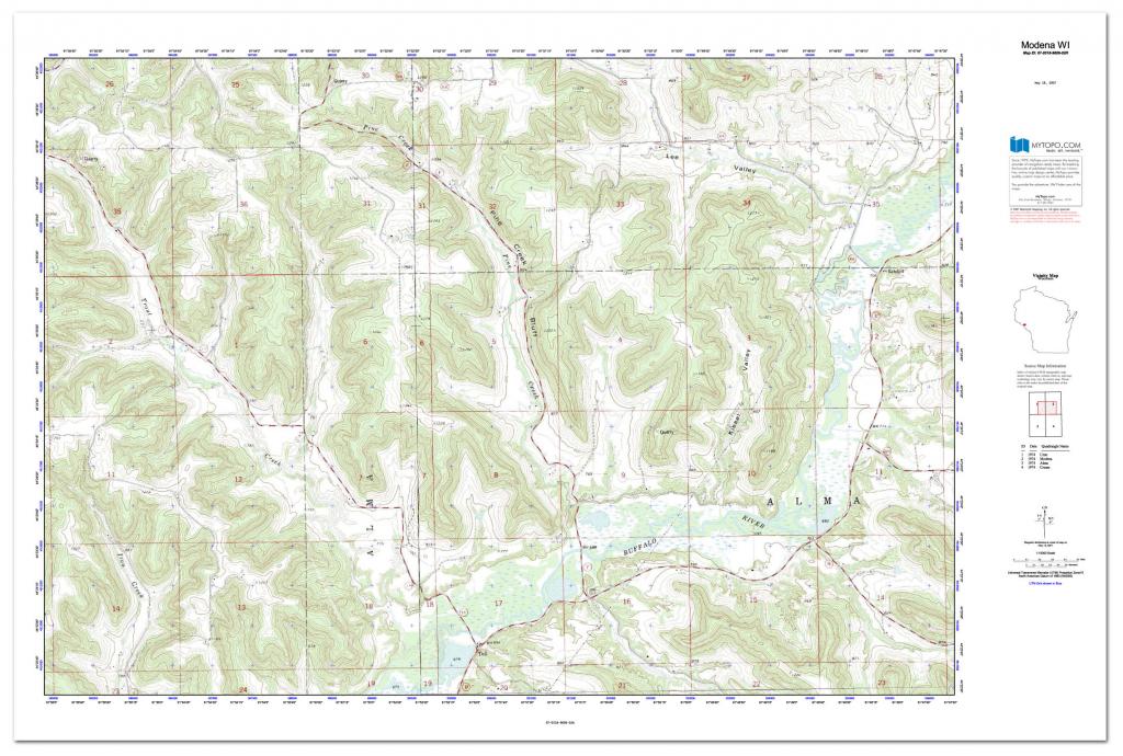 Custom Printed Topo Maps - Custom Printed Aerial Photos with Printable Usgs Maps