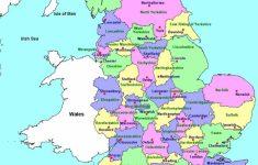 Printable Map Of Britain