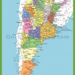 Detailed Map Of Argentina With Cities Pertaining To Printable Map Of Argentina