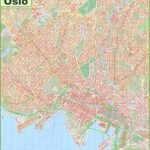 Detailed Map Of Oslo With Oslo Map Printable