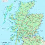 Detailed Map Of Scotland Regarding Printable Map Of Scotland