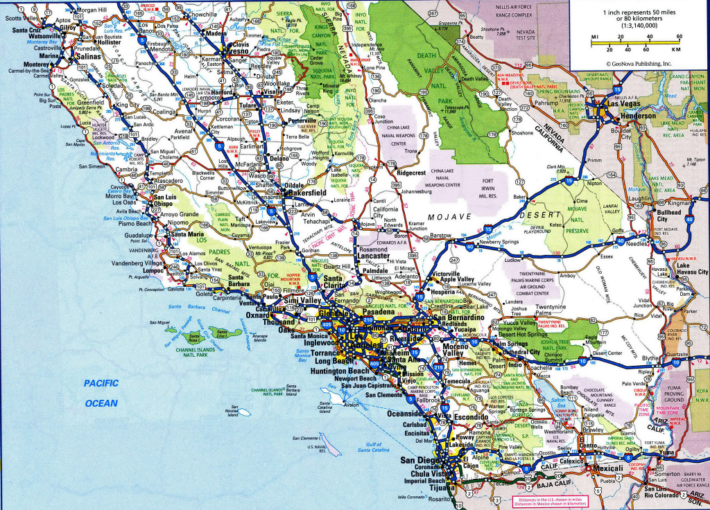 Detailed Map Of Southern California Best Of Printable Road Map pertaining to Printable Road Map Of Southern California