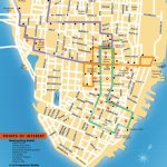 Detailed Map Of The Charleston Dash Trolley Routes. | Charleston Sc In Printable Map Of Charleston Sc Historic District