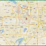 Dfw Area Map   Map Of Dfw Area (Texas   Usa) Regarding Printable Map Of Dallas Fort Worth Metroplex