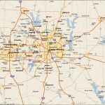 Dfw Metroplex Map   Dallas Fort Worth Metroplex Map (Texas   Usa) Inside Printable Map Of Dallas Fort Worth Metroplex