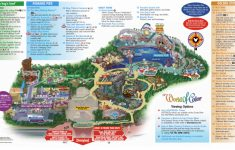 Printable Disneyland Map 2014