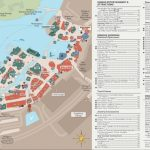 Disney Springs Map   Walt Disney World Intended For Disney Springs Map Printable