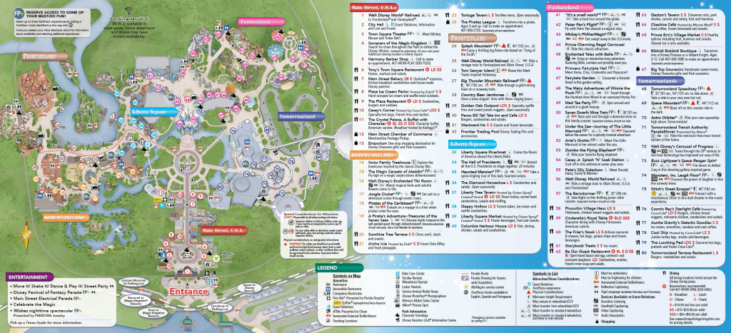Disney World Theme Park Maps 2017 Disney Maps And Maps Of Disney pertaining to Printable Maps Of Disney World Theme Parks