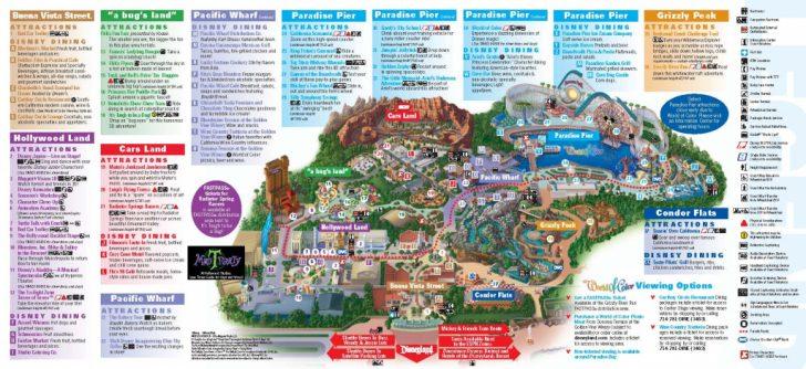 Printable Disneyland Park Map