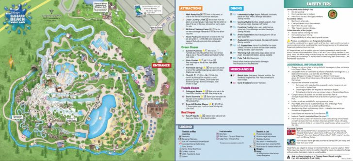 Walt Disney World Park Maps Printable