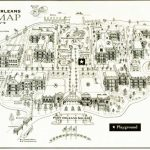 Disney's Port Orleans French Quarter Map   Wdwinfo Within Printable French Quarter Map