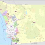 District Maps With Regard To San Diego County Zip Code Map Printable
