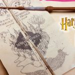 Diy Harry Potter Marauder's Map Printable And Parchment Easy Diy With Regard To Harry Potter Map Marauders Free Printable