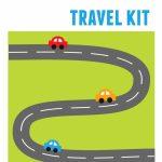 Diy Kids' Travel Binder + Free Printable Road Trip Games For Printable Road Maps For Kids