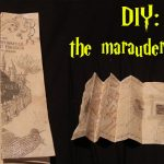 Diy: Marauders Map!   Youtube Inside Marauders Map Template Printable