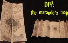 Marauders Map Template Printable