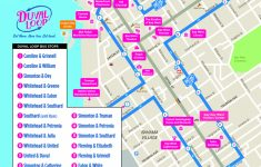 Document Center / Hop On – Hop Off The Free Duval Loop! / Key West, Fl within Key West Street Map Printable