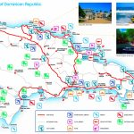 Dominican Republic Tourist Attractions Map With Printable Map Of Dominican Republic