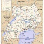 Download Free Uganda Maps With Regard To Printable Map Of Uganda