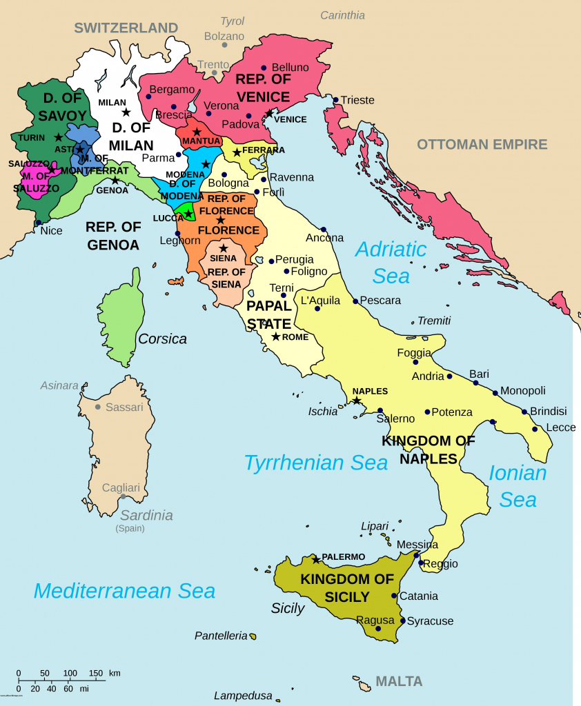 Download Printable Map Of Italy With Regions | All World Maps in Printable Map Of Northern Italy