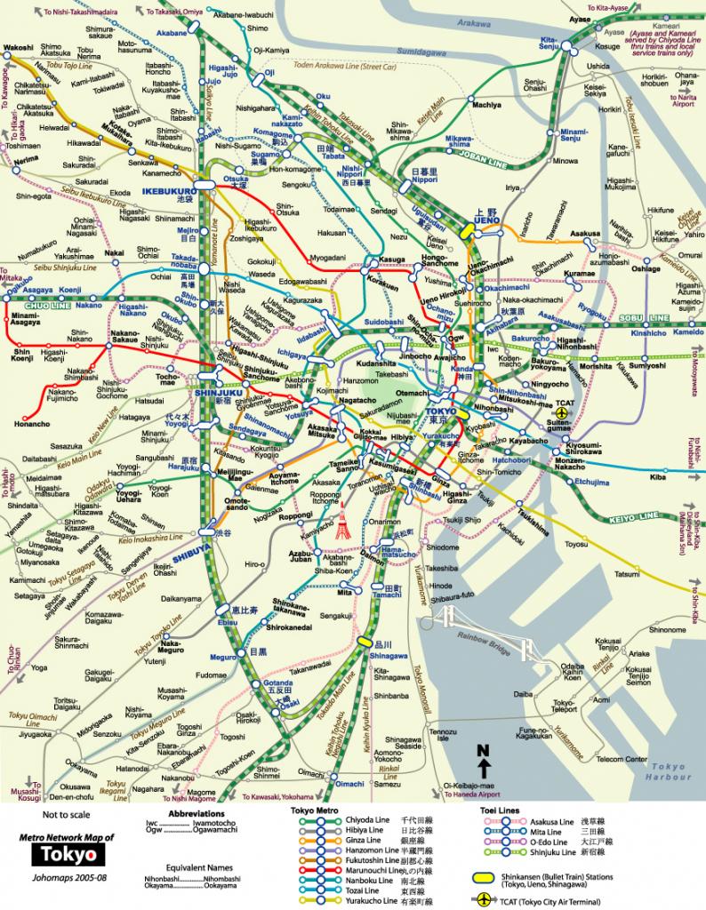 Download Tokyo Maps - Youinjapan in Printable Map Of Tokyo