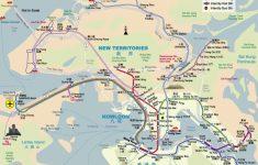 Hong Kong Tourist Map Printable