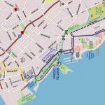Downtown Honolulu, Kaka'ako And Iolani Palace Map For Printable Map Of Waikiki