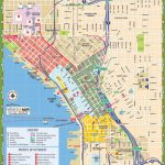 Downtown Seattle Street Map   Map Of Downtown Seattle Streets For Downtown Spokane Map Printable