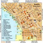 Downtown Seattle Walking Map   Walking Map Of Downtown Seattle Intended For Printable Map Of Downtown Seattle