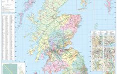 Printable Road Map Of Scotland