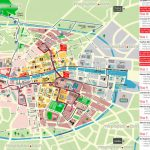 Dublin Map   Hop On Hop Off Bus Map Of Dublin City Sightseeing Tour For Dublin City Map Printable