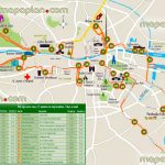 Dublin Maps   Top Tourist Attractions   Free, Printable City Street Inside Dublin City Map Printable