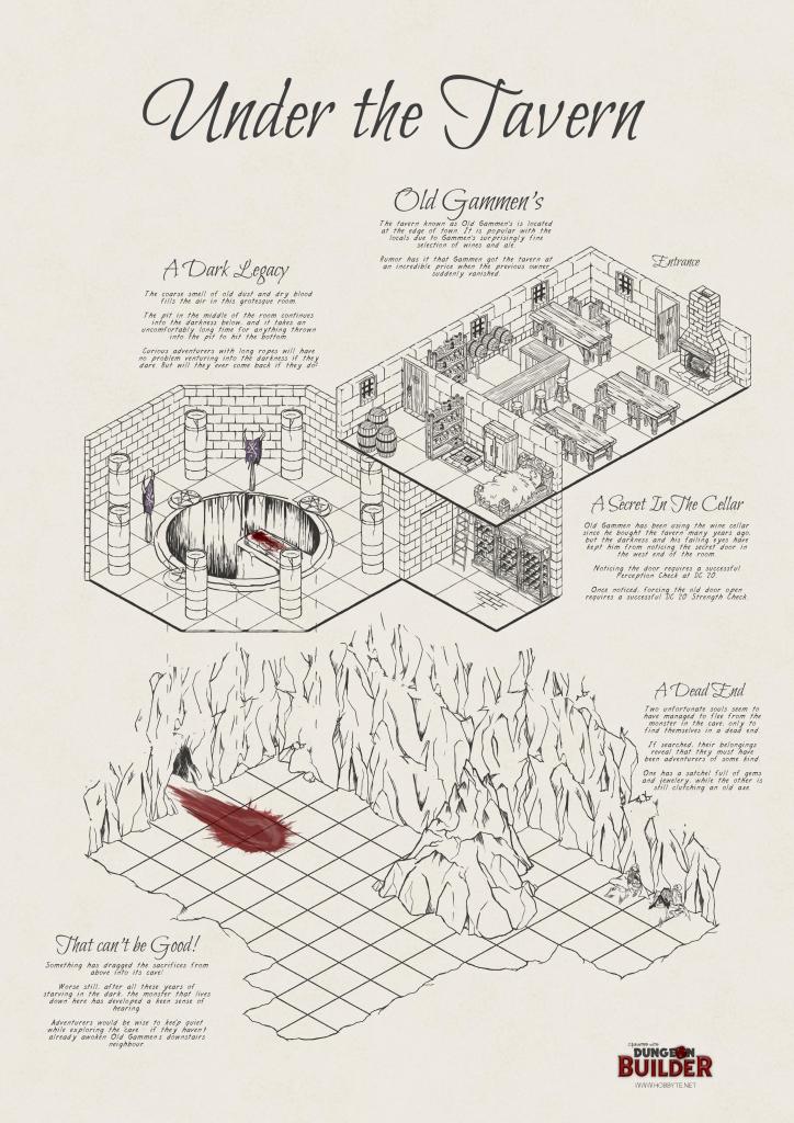 Dungeon Builder - The Isometric Map Maker | Hobbyte in Printable Map Maker