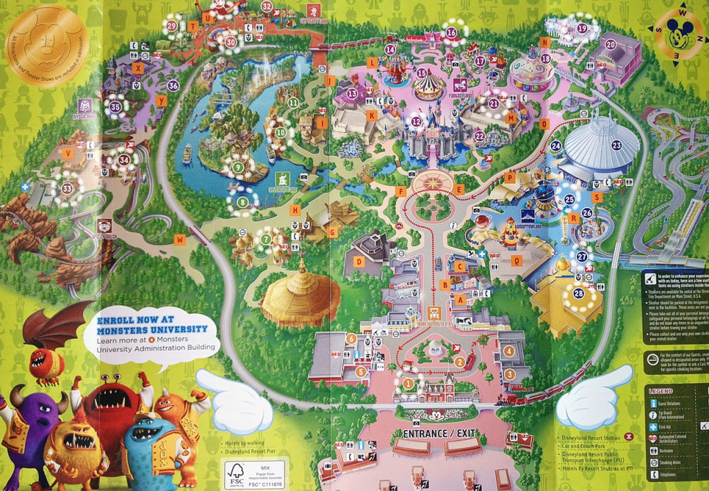 Dwika Sudrajat: Hongkong Disneyland Map 2014 regarding Printable Disneyland Map 2014