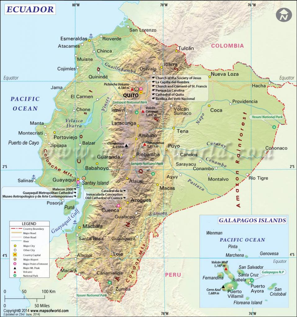 Ecuador Map | World Map Vector pertaining to Printable Map Of Ecuador