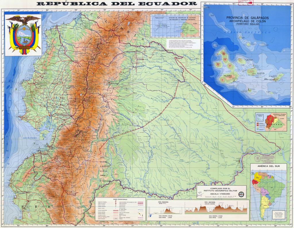 Ecuador Maps | Maps Of Ecuador pertaining to Printable Map Of Ecuador