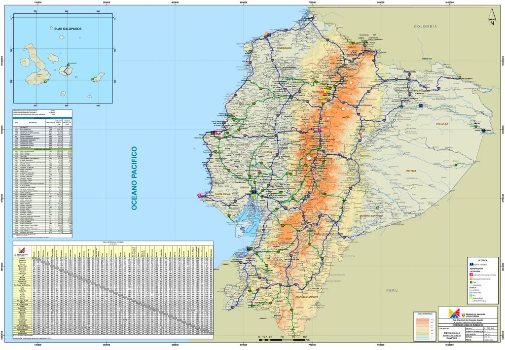 Ecuador Maps | Maps Of Ecuador throughout Printable Map Of Ecuador