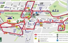 Edinburgh City Map Printable
