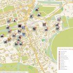 Edinburgh Printable Tourist Map | Sygic Travel Pertaining To Boston Tourist Map Printable