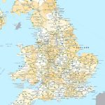 England Road Map Pertaining To Printable Map Of England